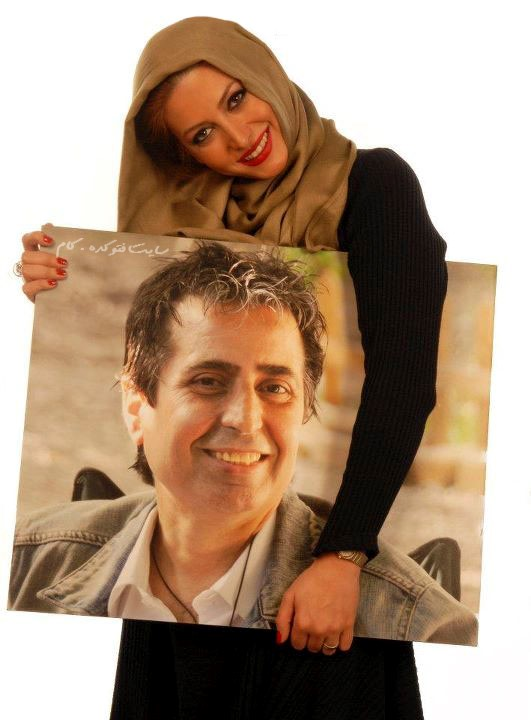 عکس فریبا نادری و مسعود رسام و ماجرای ازدواج