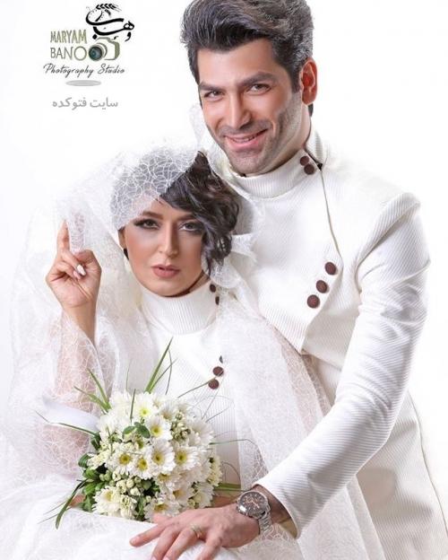 عکس فریبا طالبی و همسرش امیر صدهزاری + زندگی شخصی