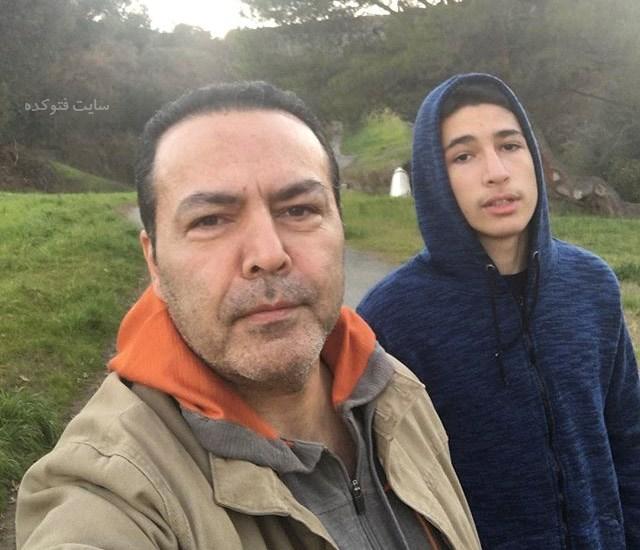 عکس فریبرز عرب نیا و پسرش جانیار + زندگینامه شخصی