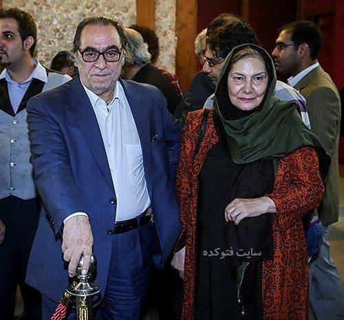 عکس فریده سپاه منصور و همسرش هوشنگ توکلی + بیوگرافی