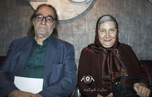 عکس هوشنگ توکلی و همسر فریده سپاه منصور  + زندگینامه خصوصی