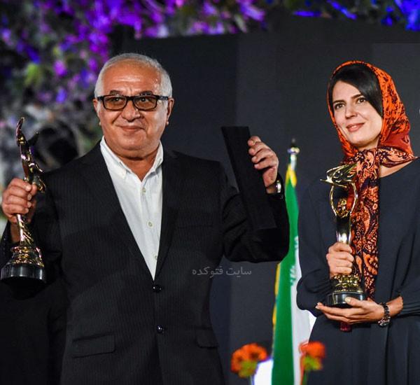 فرید سجادی حسینی بازیگر و لیلا حاتمی با بیوگرافی کامل