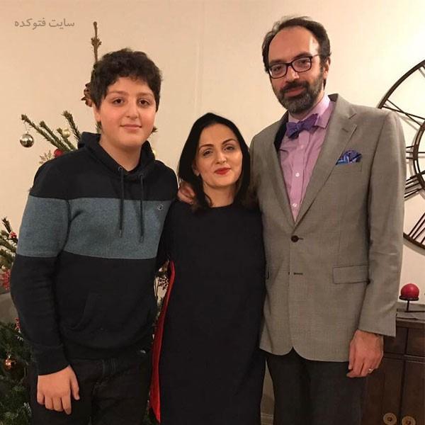 فرناز قاضی زاده و همسرش سینا مطلبی + بیوگرافی کامل