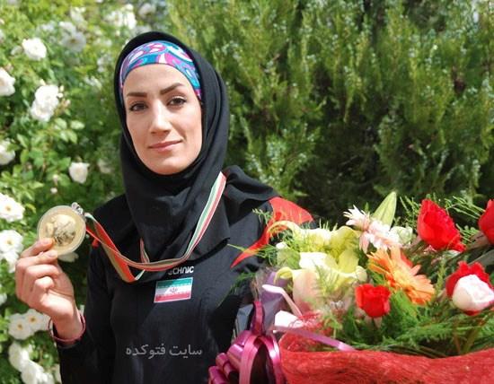 عکس فرناز اسماعیل زاده دختر عنکبوتی ایران + زندگینامه شخصی
