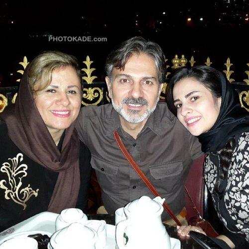 عکس فرشید فهیم و همسرش و دخترش + بیوگرافی