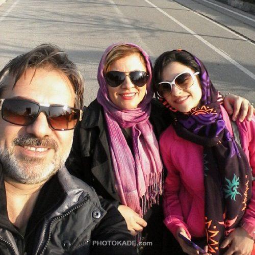 عکس خانوادگی فرشید فهیم مجری تلویزیون + بیوگرافی