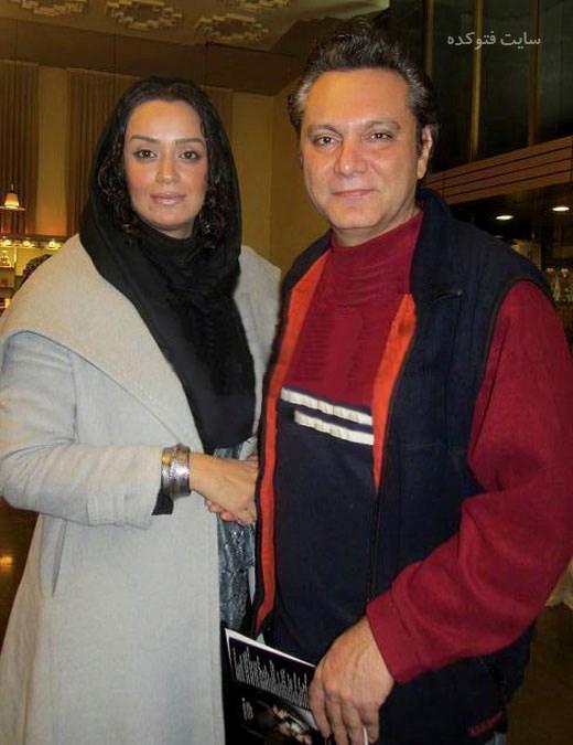 عکس فرشید نوابی و همسرش الهام چرخندخ + بیوگرافی