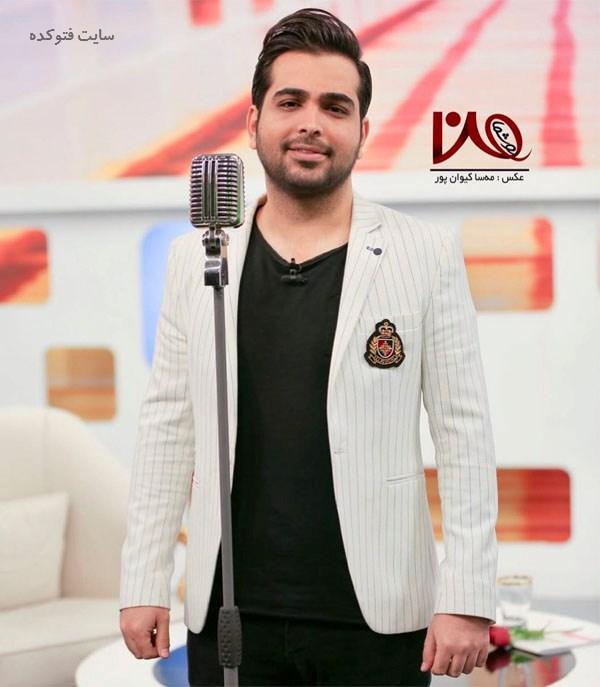 عکس و بیوگرافی فرزاد فرخ خواننده