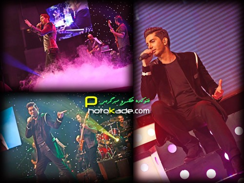 عکس آخرین کنسرت فرزاد فرزین