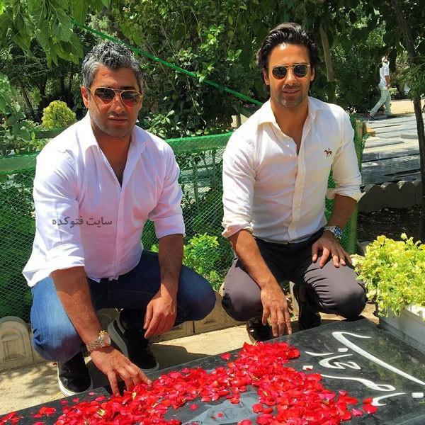 عکس فرزاد مجیدی و برادرش فرهاد مجیدی + بیوگرافی