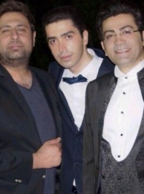 عکس فرزاد حسنی در عروسی برادرش بعد از طلاق آزاده نامداری
