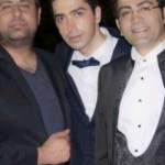 عکس فرزاد حسنی در عروسی برادرش