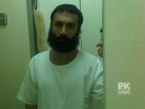 عکس فرزان اطهری در زمان بازداشت در امارات