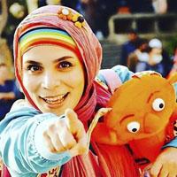 عکس و بیوگرافی فاطمه امینی مجری برنامه کودک ململ + همسرش