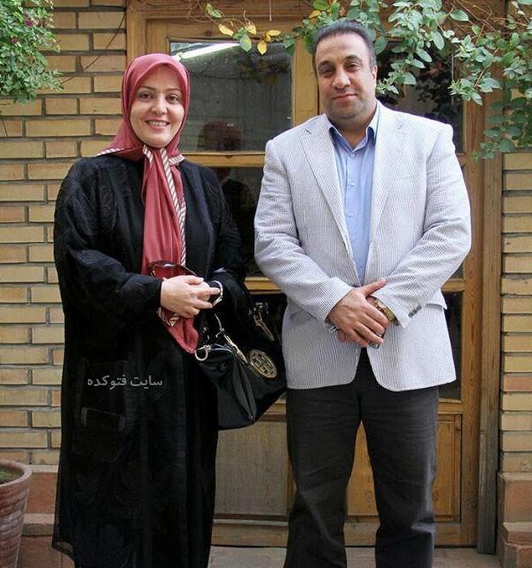 عکس های فاطمه دانشور و همسرش مهرداد اکبریان + بیوگرافی کامل
