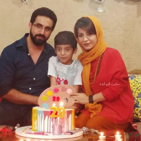 عکس های فاطمه عبادی و همسرش + بیوگرافی