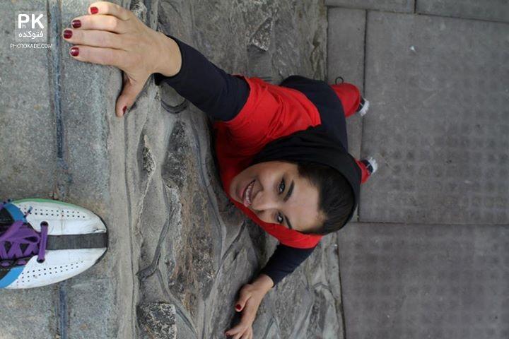 عکس های دختر پارکور کار ایرانی,عکس های دختر پارکور باز ایرانی,عکس های دختر ورزکار علاقه به پارکور و ژیمناستیک,دختر ورزشکار ,عکس حرکات پارکور دختر ایرانی