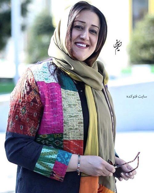 عکس های عکس فاطمه هاشمی + همسرش و بیوگرافی کامل