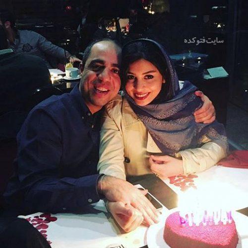 عکس فتانه ملک محمدی و همسرش نیما + زندگینامه