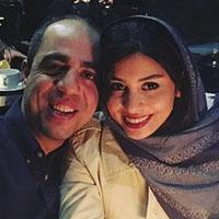 فتانه ملک محمدی و همسرش نیما + عکس و فعالیت ها