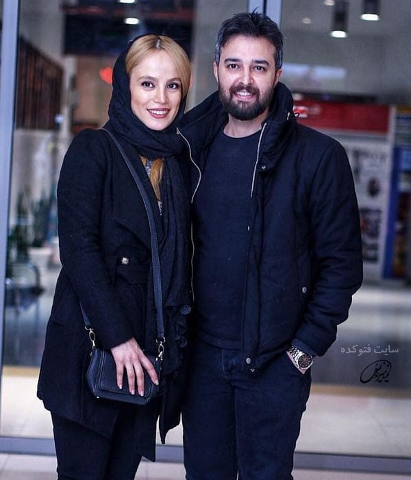 فرشته آلوسی و همسرش محمود رضا قدیریان