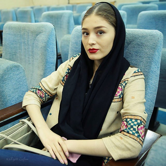 عکس فرشته حسینی بازیگر افغانی