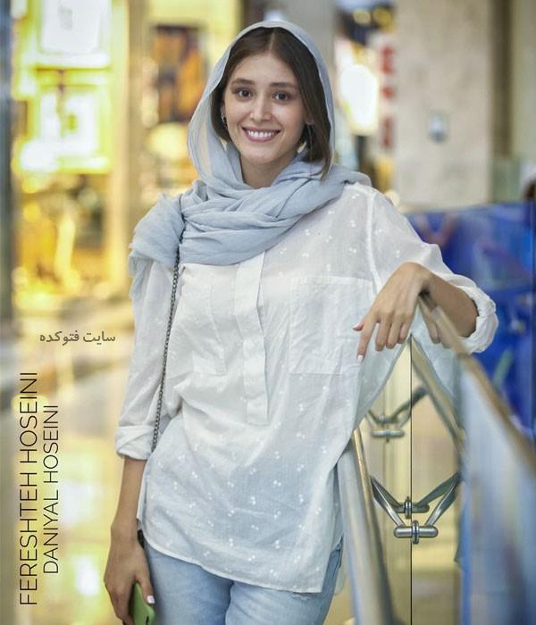 عکس فرشته حسینی Fereshteh Hosseini بازیگر با بیوگرافی