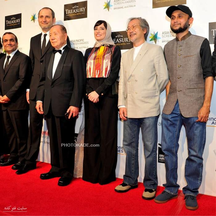 عکس بازیگران ایرانی در آسيا پاسفيک,عکس فاطمه معتمدآریا در آسیا پاسفیک,عکس نگار جواهریان در آسیا پاسفیک,فیلم بهمن در فستیوال آسیا پاسفیک