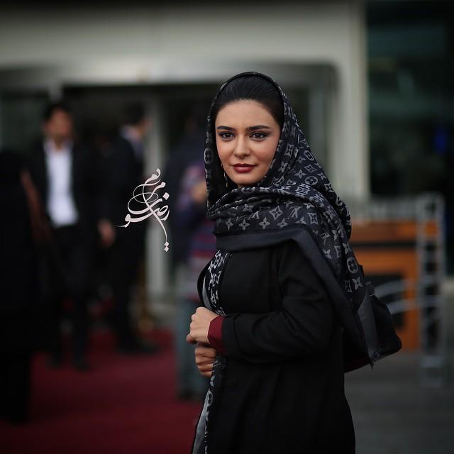 عکس لیندا کیانی در جشنواره فیلم فجر