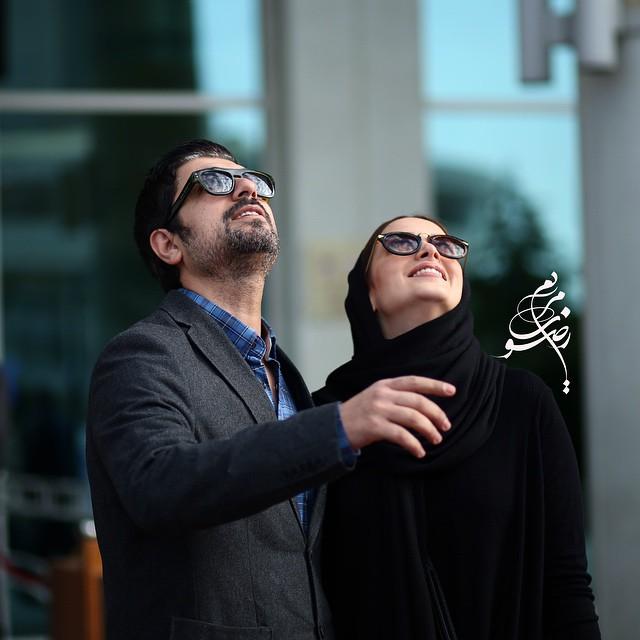 عکس بهنوش طباطبایی و مهدی پاکدل در جشنواره فیلم فجر