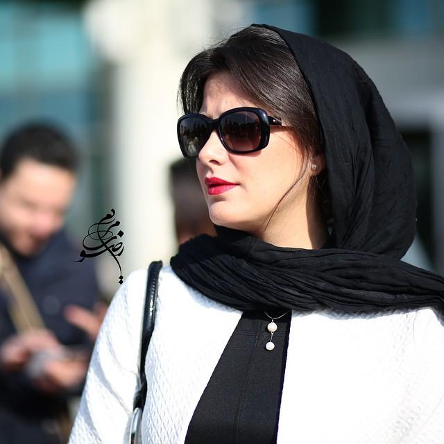 عکس طناز طباطبایی در جشنواره فیلم فجر