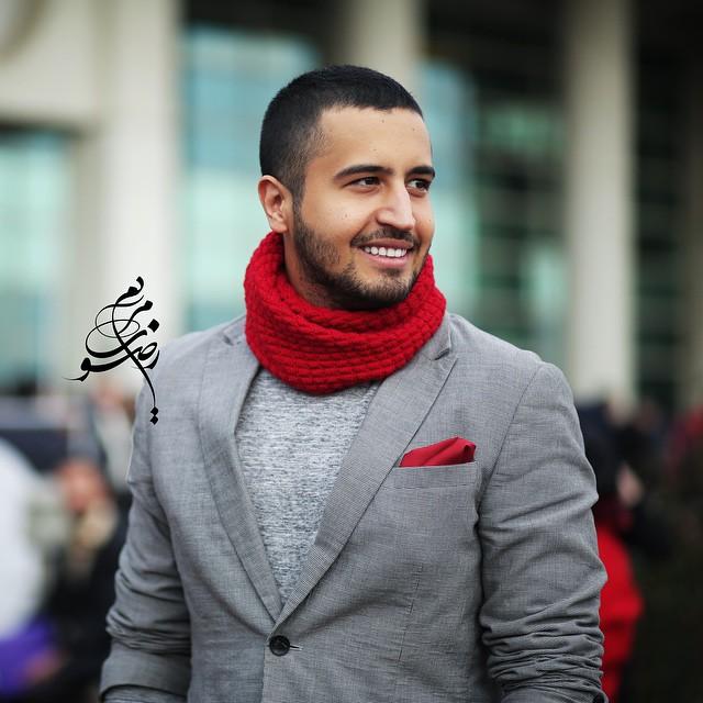 عکس مهرداد صدیقیان در جشنواره فیلم فجر
