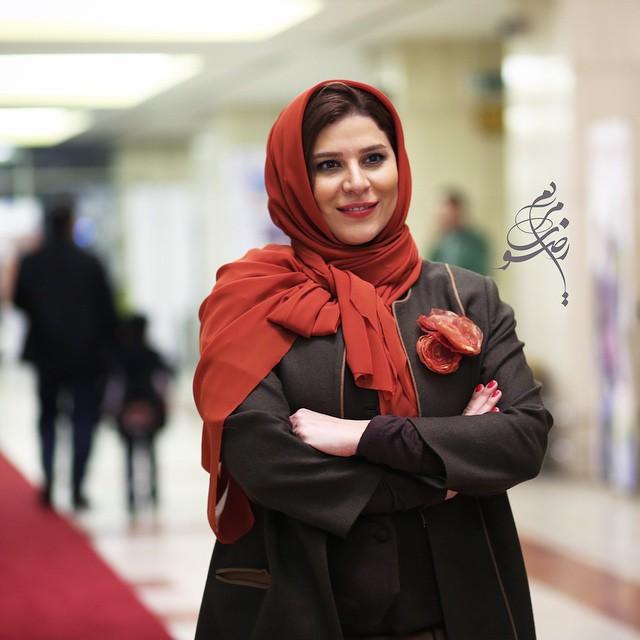 عکس سحر دولتشاهی در جشنواره فیلم فجر