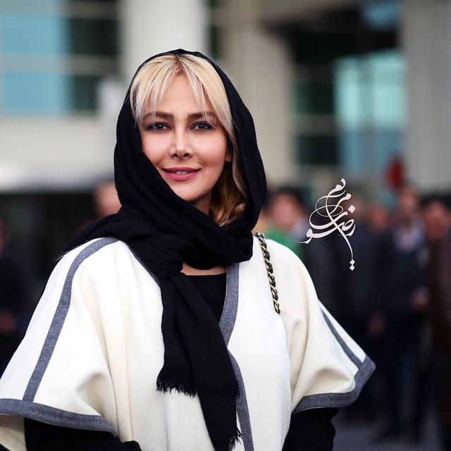 عکس آنا نعمتی در جشنواره فیلم فجر