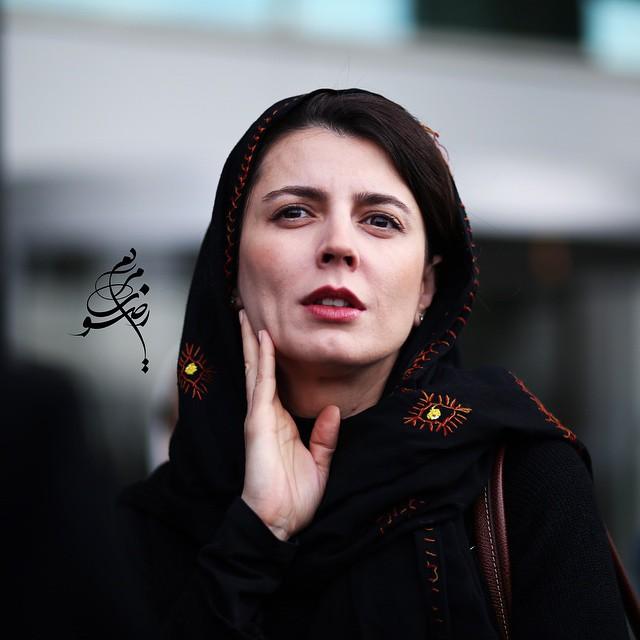 عکس لیلا حاتمی در جشنواره فیلم فجر