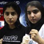 کتک خوردن دختر ایرانی در رینگ فیلم و ماجرا