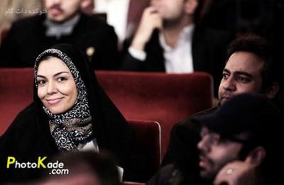 عکس آزاده نامداری جشنوار فیلم فجر 94