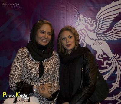 عکس طناز طباطبایی و مهناز افشار جشنوار فیلم فجر 94