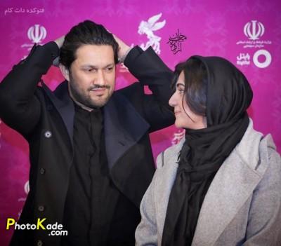 عکس باران کوثری و حامد بهداد جشنوار فیلم فجر 94