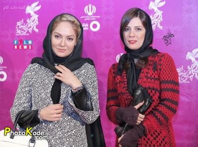 عکس سارا بهرامی و مهناز افشار جشنوار فیلم فجر 94