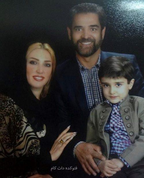 عکس همسر جدید فیروز کریمی