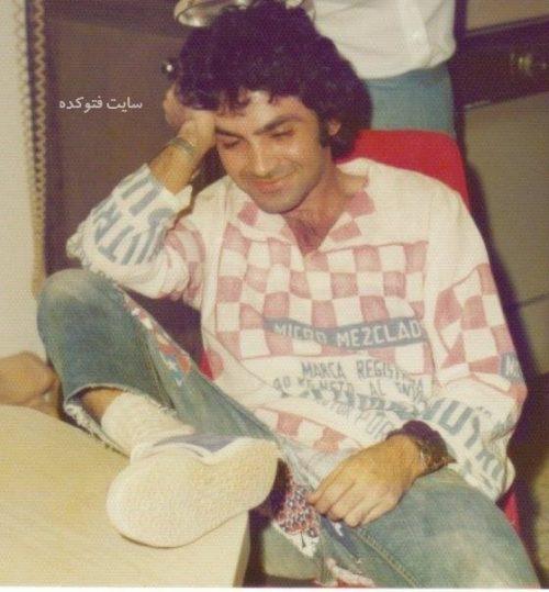 عکس فیروز نادری در دوران دانشجویی