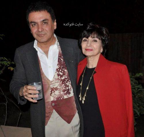 عکس فیروز نادری و همسرش