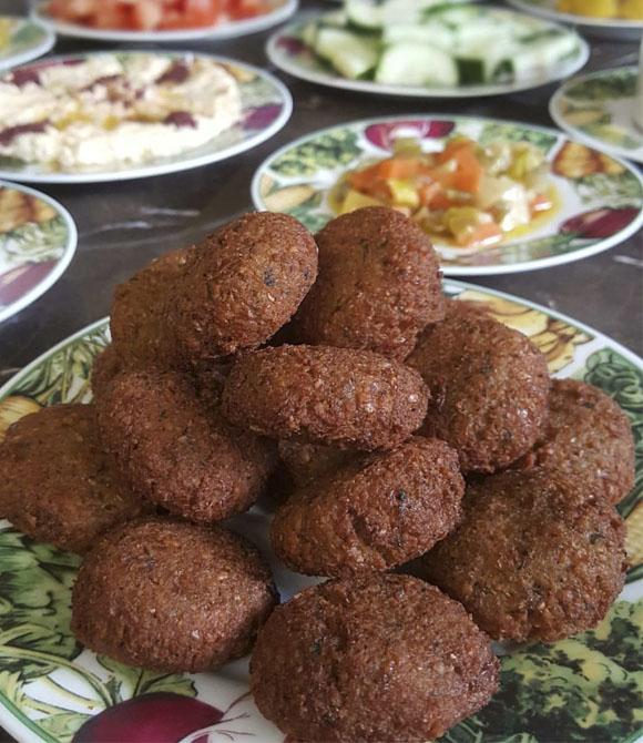 طرز تهیه فلافل لبنانی خوشمزه در سایت فتوکده