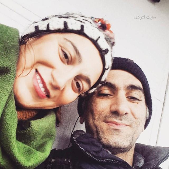 عکسفلامک جنیدی و همسرش + بیوگرافی