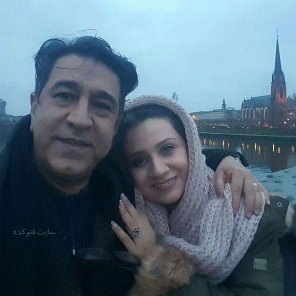 فلورا سام و همسرش مجید اوجی + بیوگرافی کامل