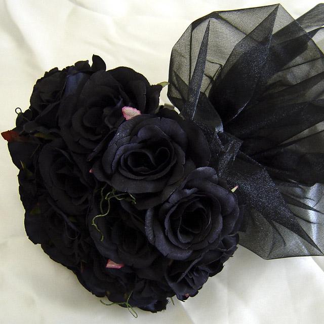 عکس پروفایل گل رز سیاه
