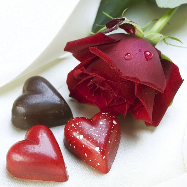 عکس پروفایل گل و قلب عاشقانه