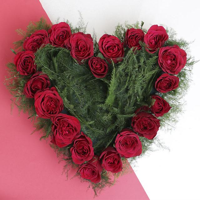عکس پروفایل گل بصورت قلب