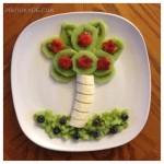 مدل و طرح های تزیین بشقاب میوه